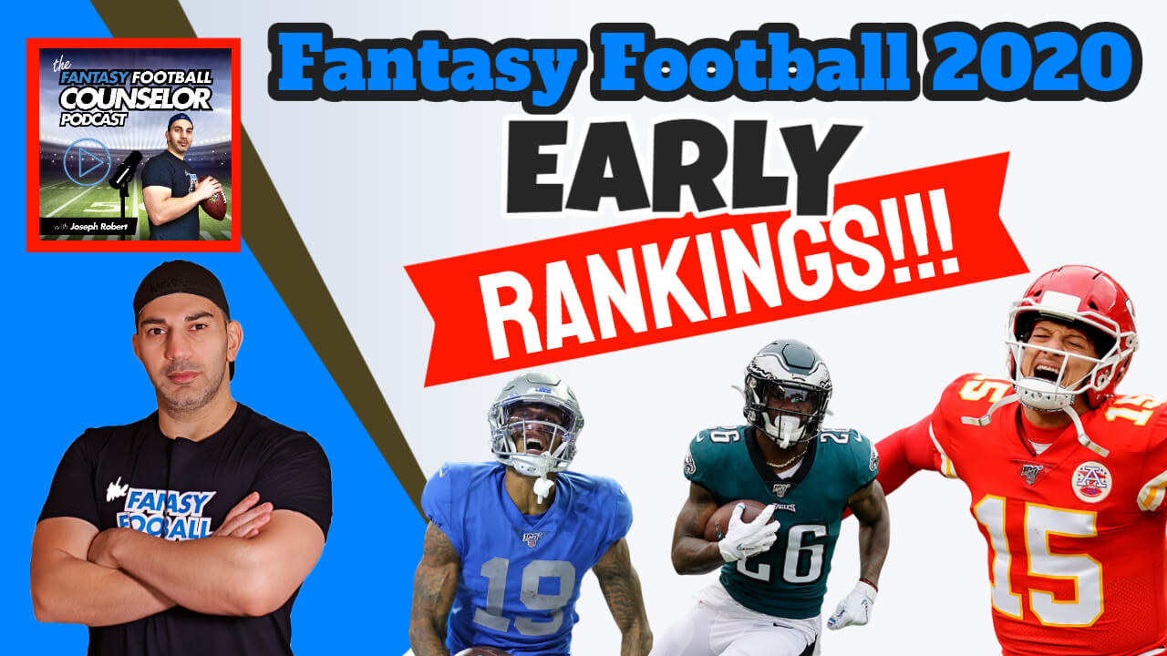 Fantasy Football Rankings 2020