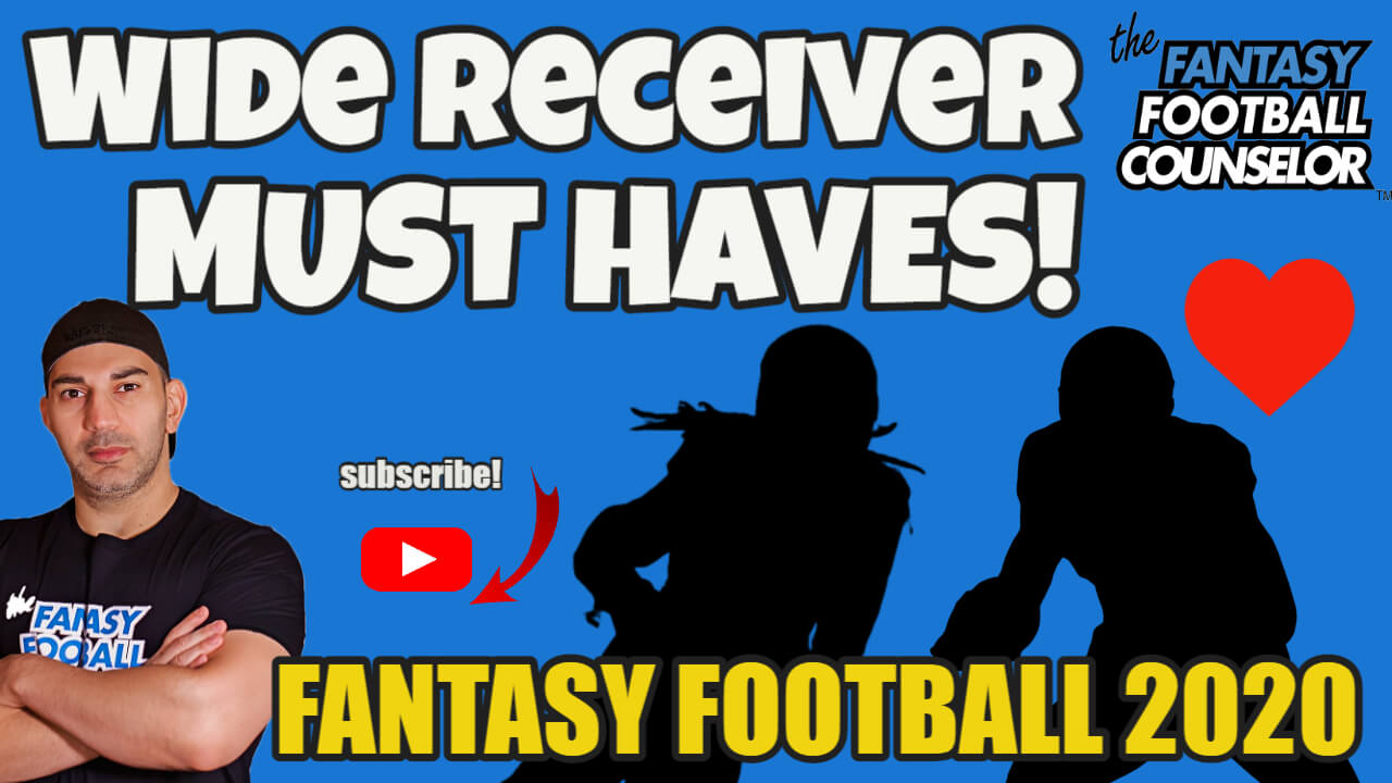 Fantasy Football Wide Receivers 2020