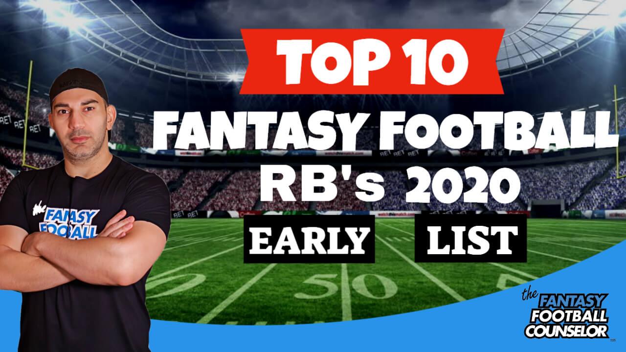 Fantasy Football Rb Rankings