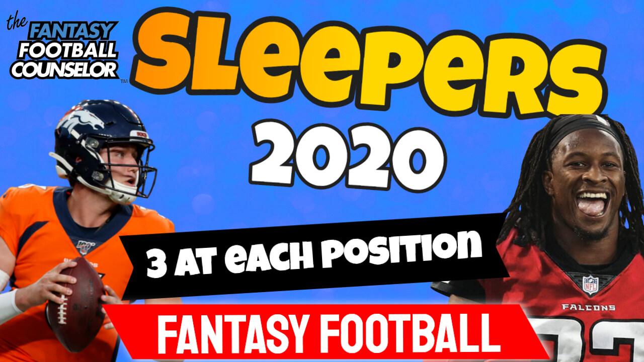Fantasy Football Sleepers 2020