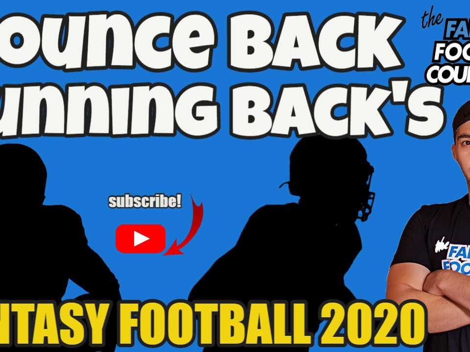 Bounce Back Running Backs 2020