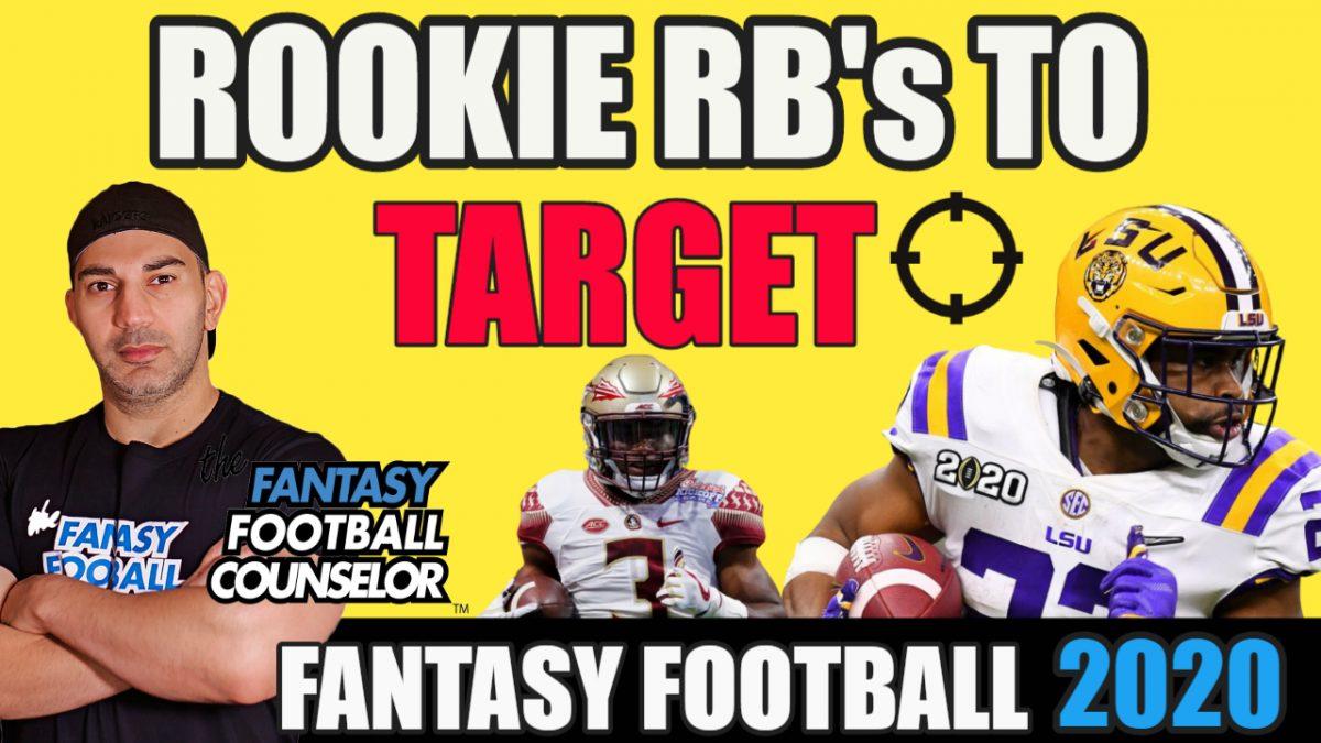 Fantasy Football Podcast 2020 - Rookie Rbs