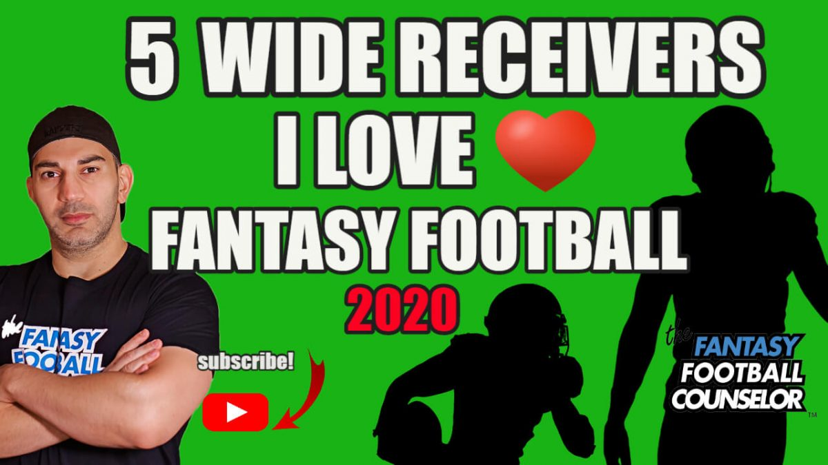Fantasy Football Wr's 2020