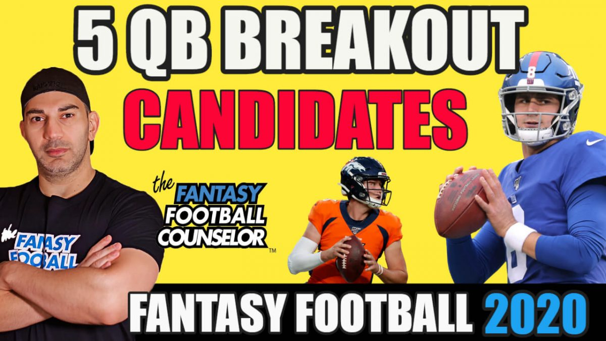 Fantasy Football Breakouts 2020