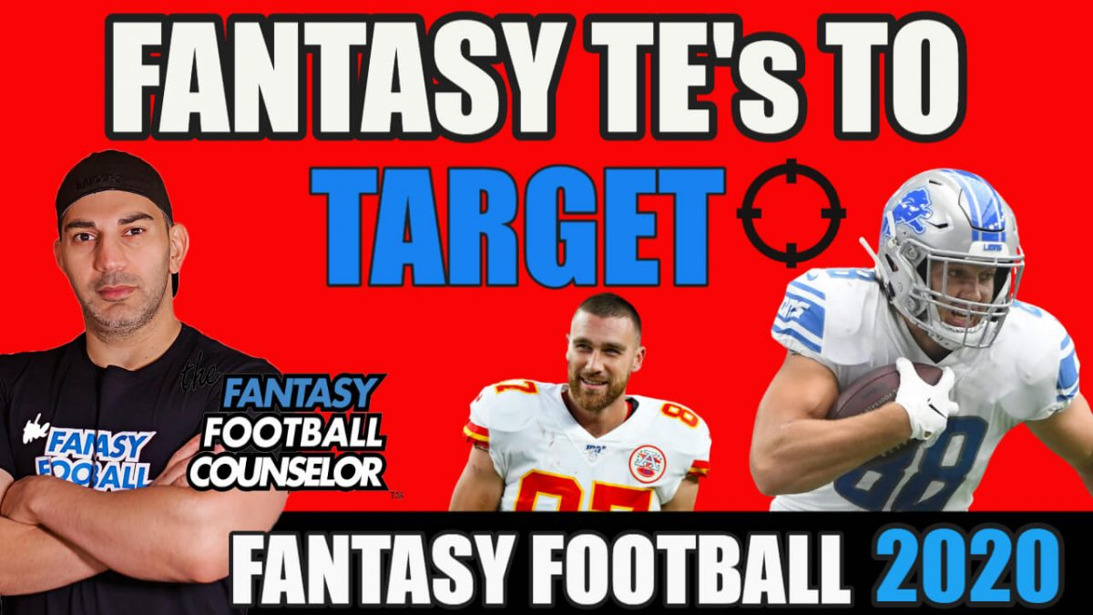 Fantasy Football Tight Ends 2020