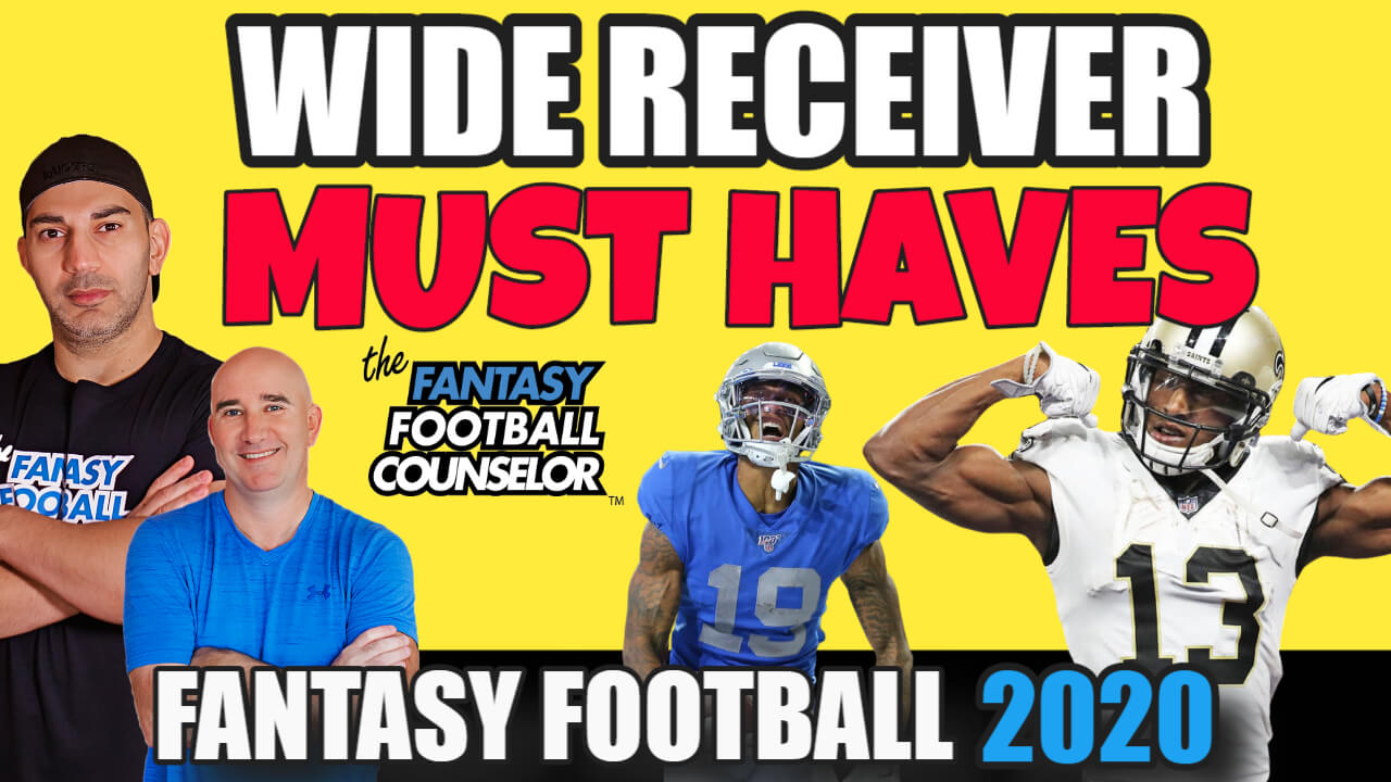 Wide Receiver Must Haves