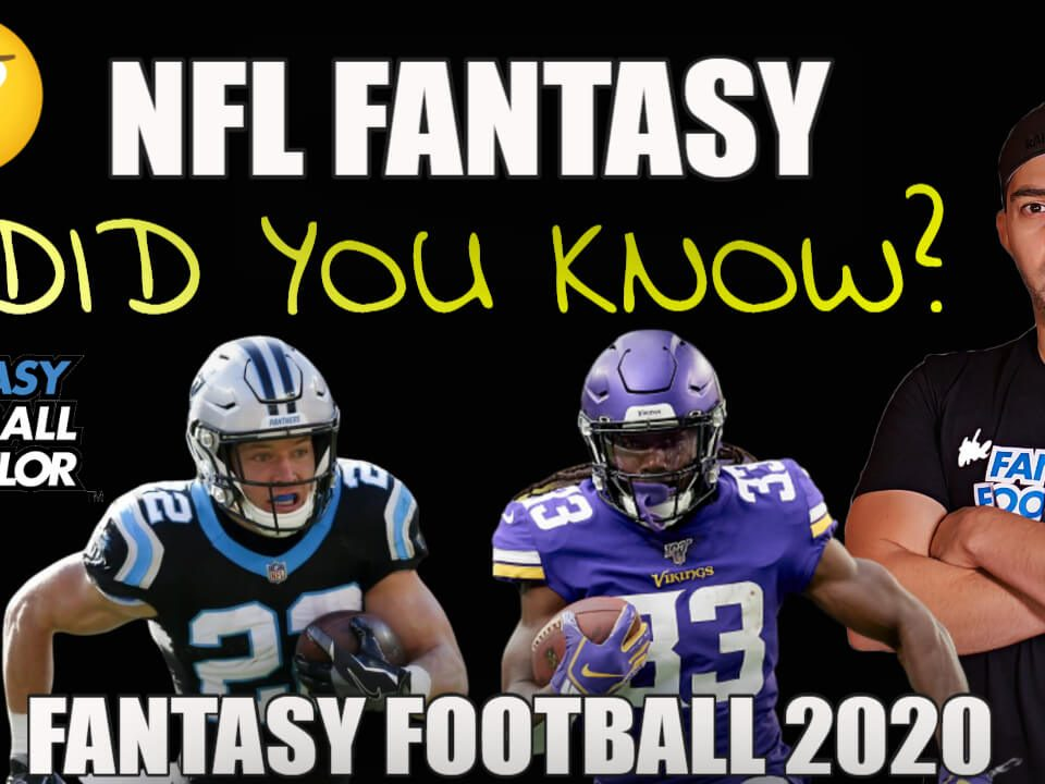 NFL Fantasy Football 2020 Facts