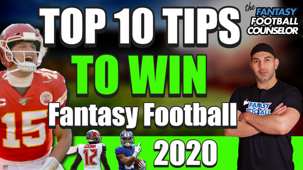 Fantasy Football Draft advice 2020