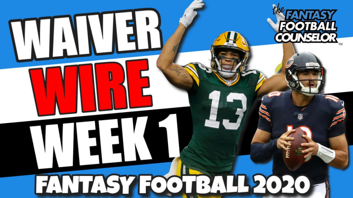 Waiver Wire Week 1