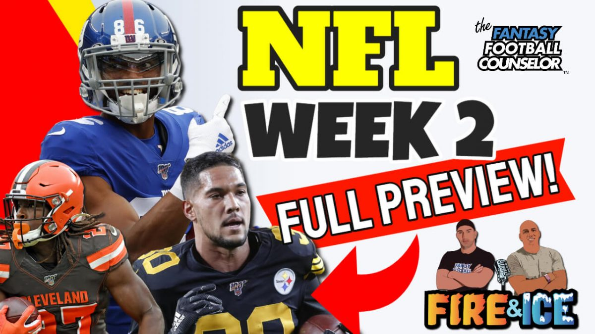 NFL Week 2 Preview