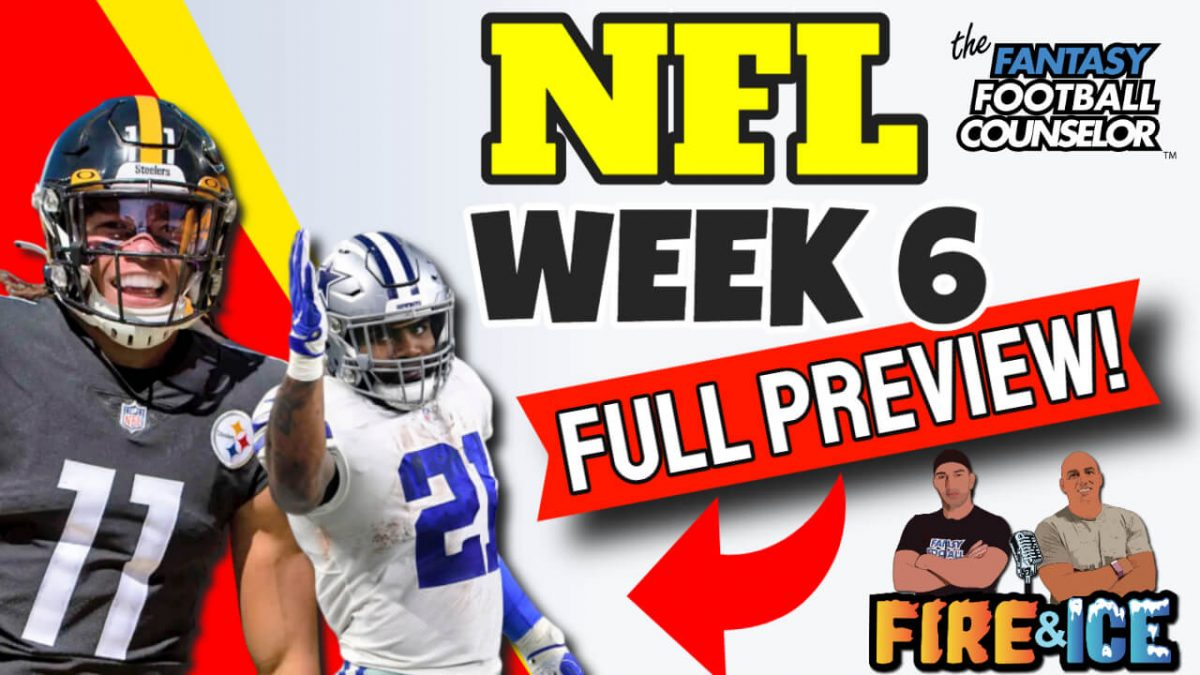 NFL Week 6 Preview 2020