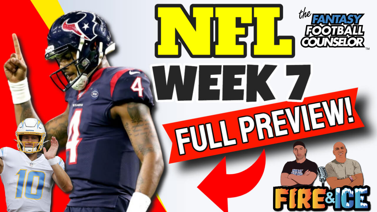 NFL Week 7 Preview