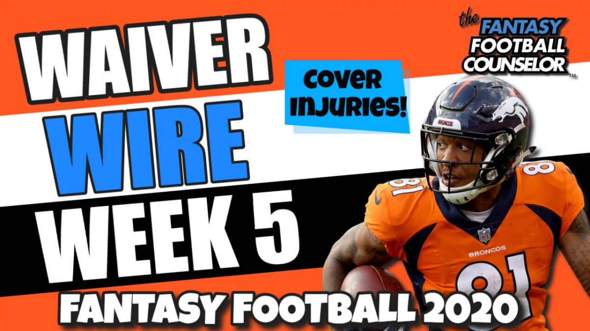 Waiver Wire Week 5