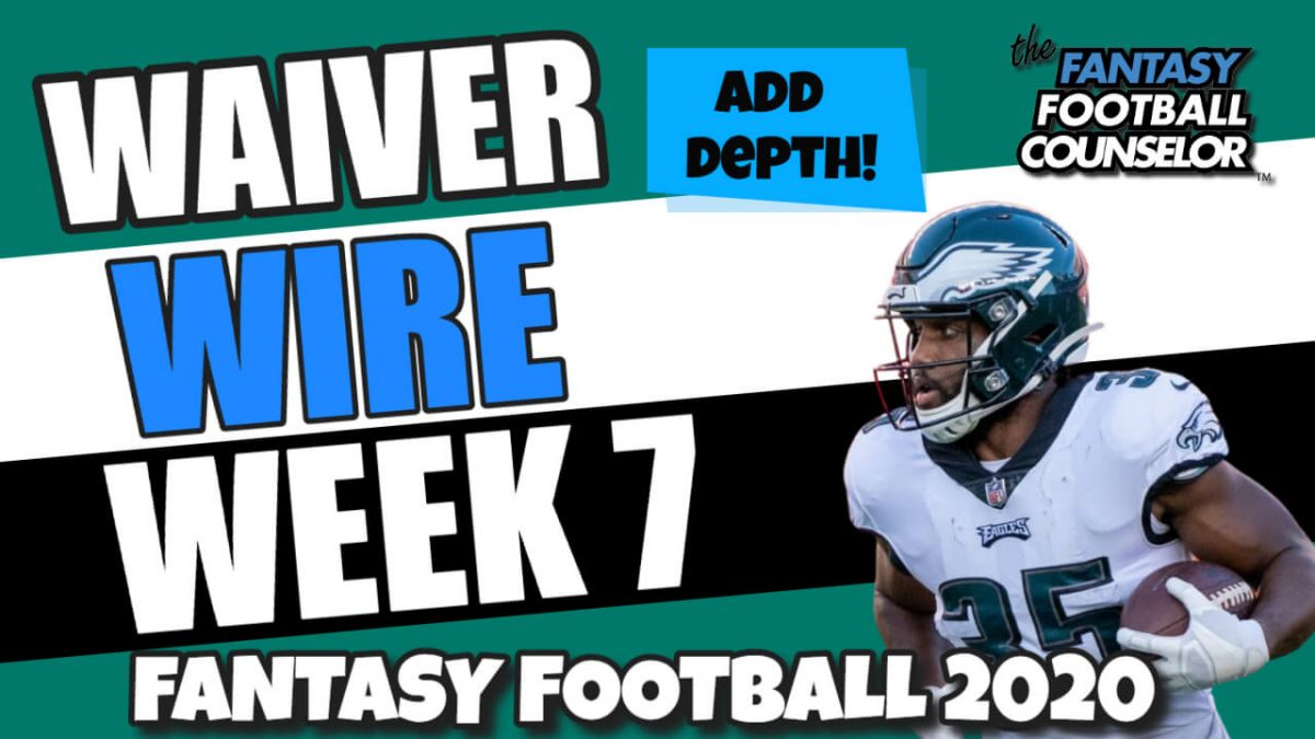 Waiver Wire Week 7
