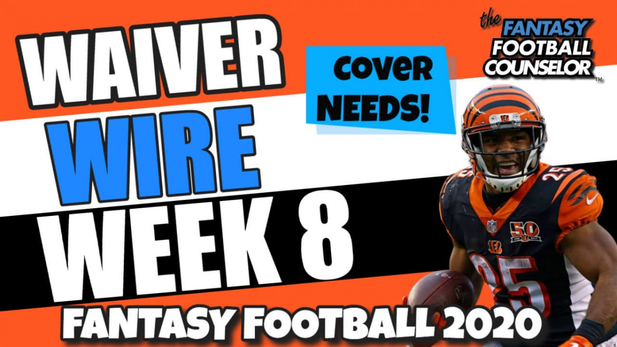 Waiver Wire Week 8