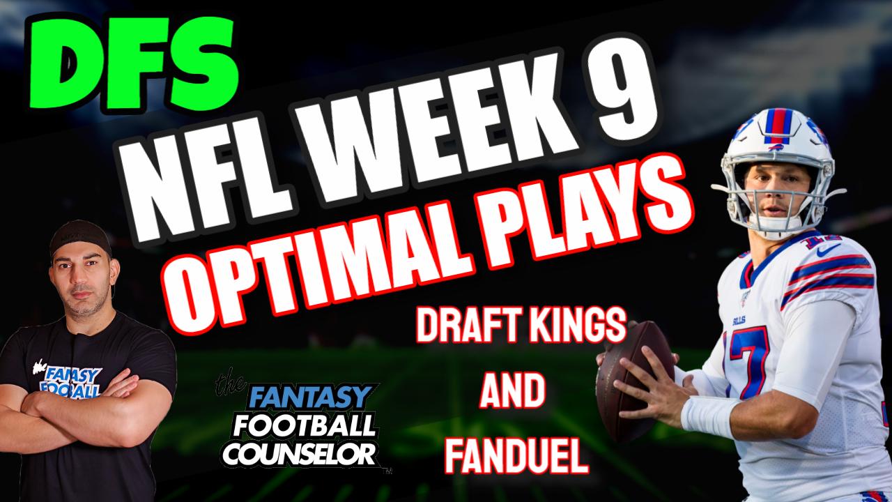 DFS Week 9