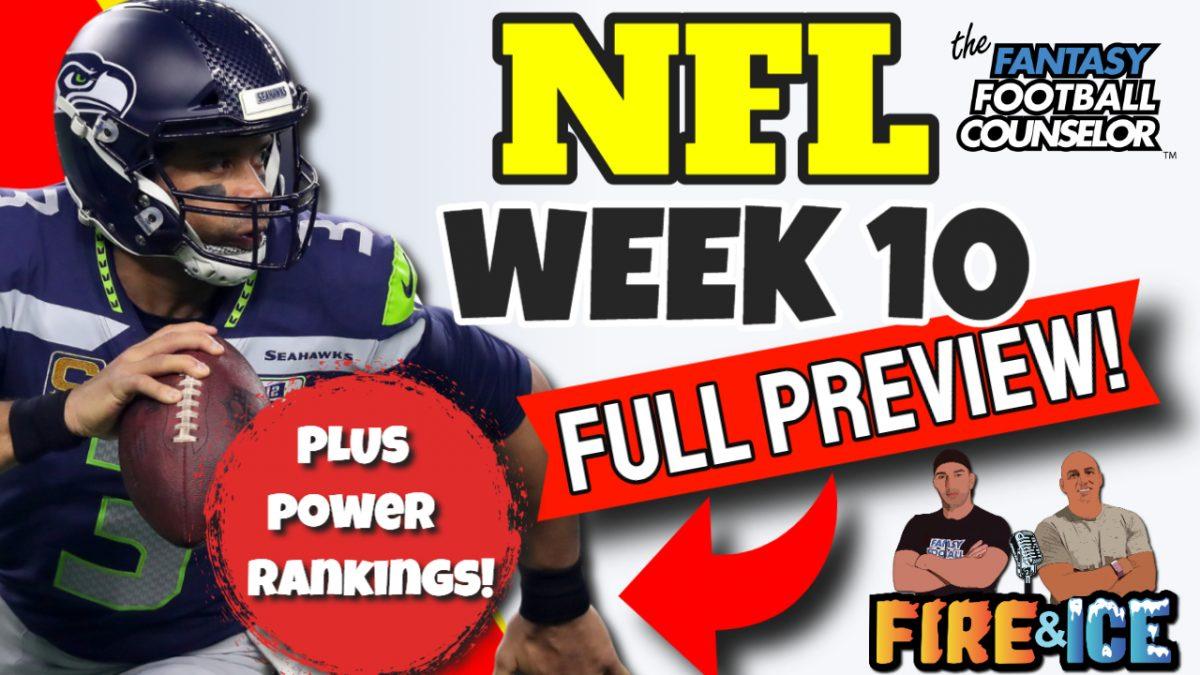 NFL Week 10 2020