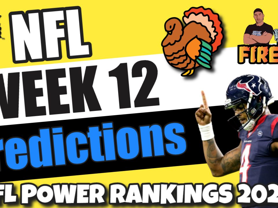 NFL Week 12 Preview