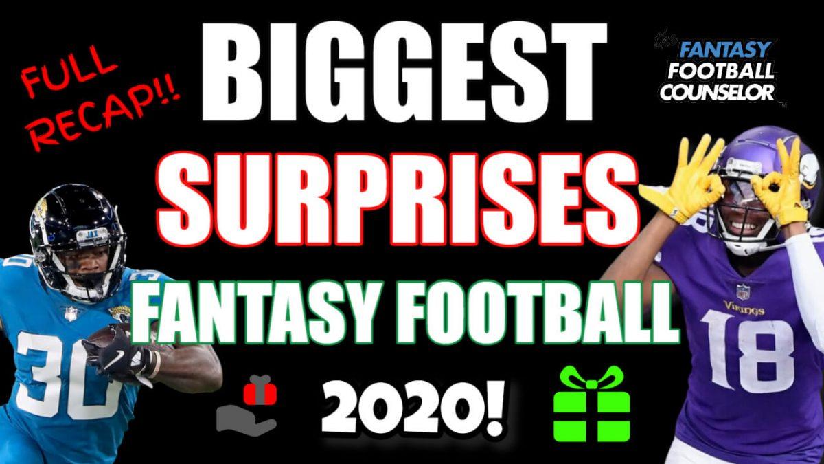 Fantasy Football 2020 Recap