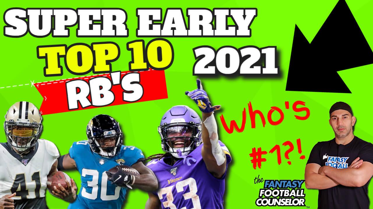 Top 10 Running Backs 2021