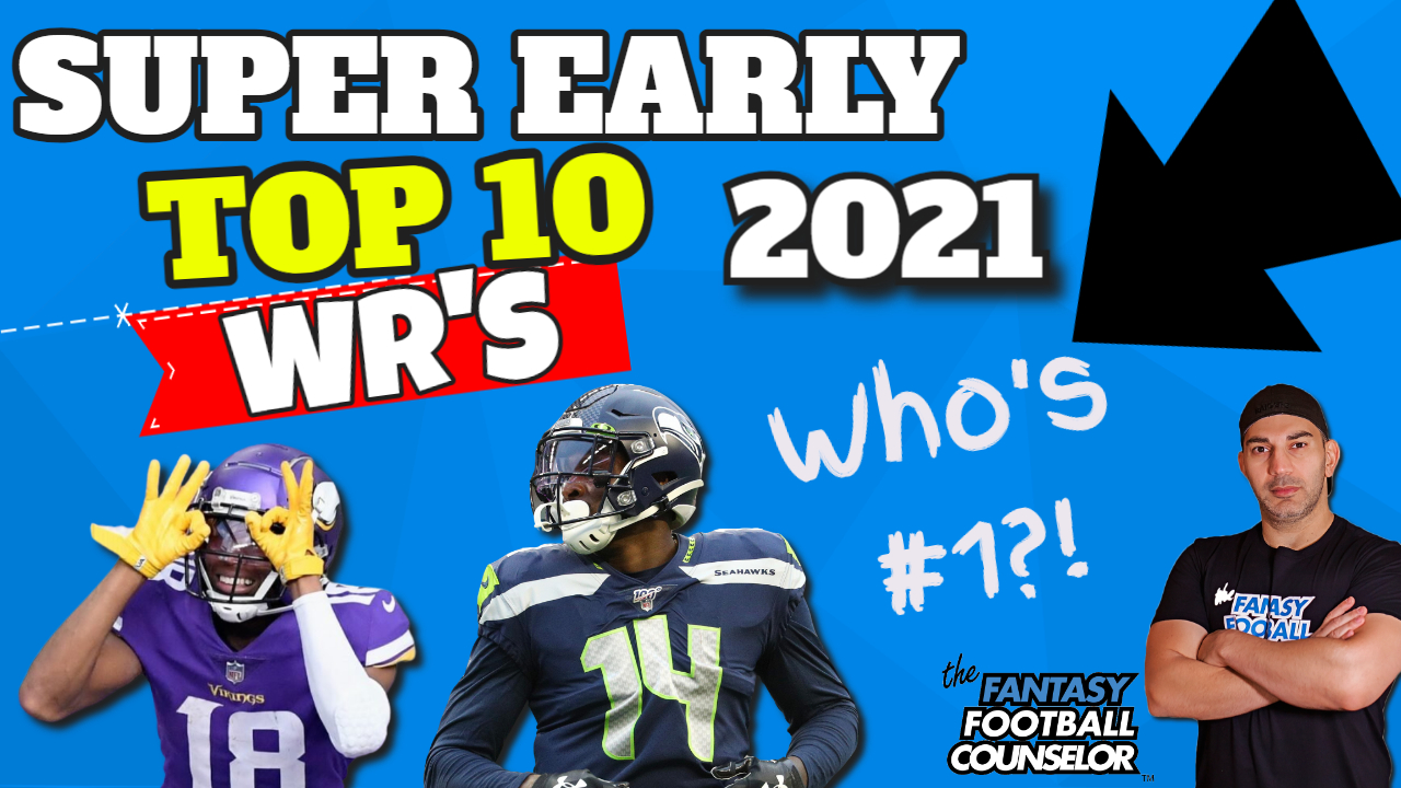 Top 10 WR's 2021