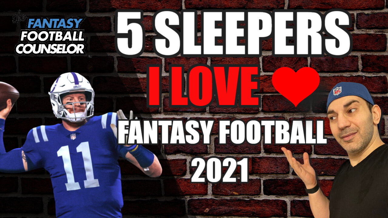 fantasy football sleepers 2021