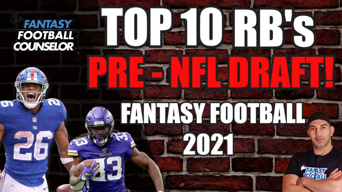 Top 10 RBs 2021
