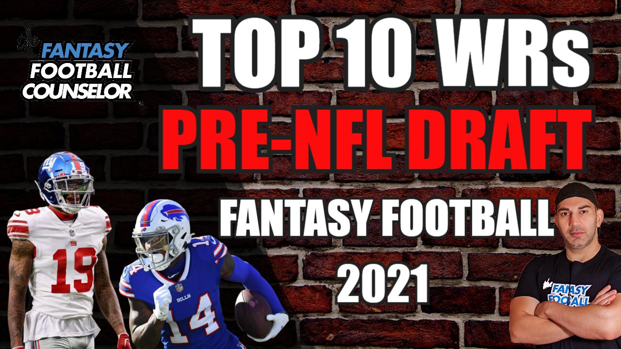 Fantasy Football WR's 2021