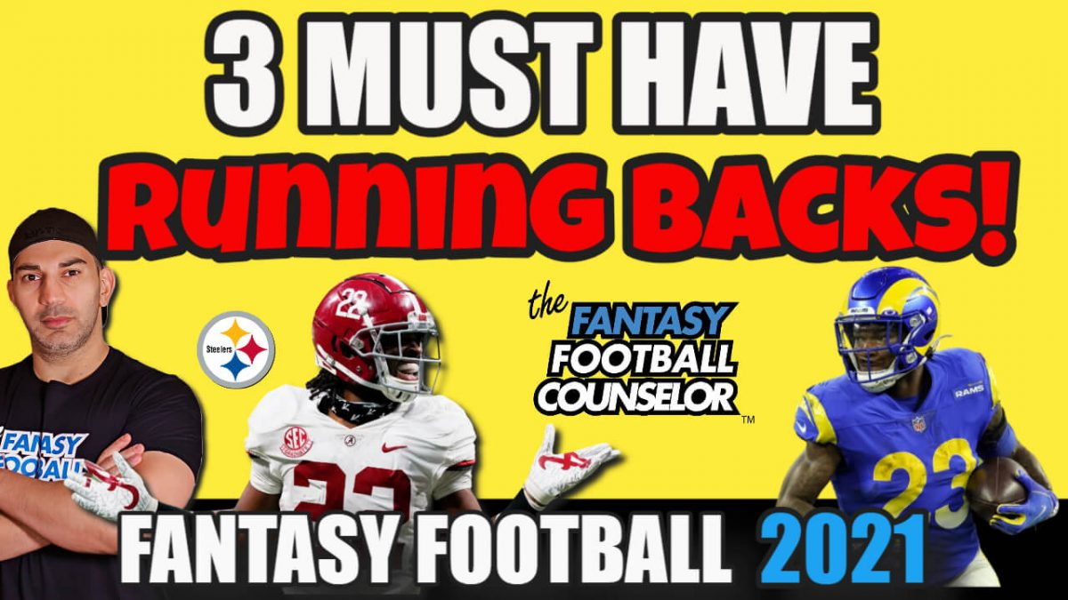 3 Running Back Must Haves