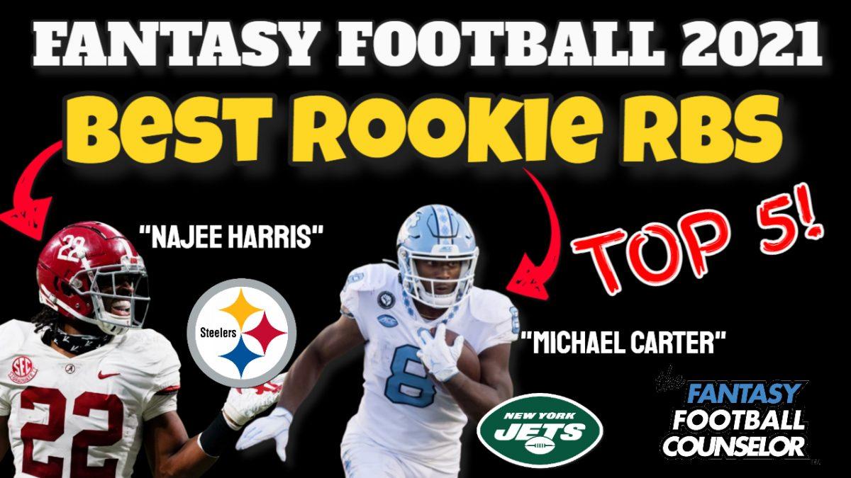 Top 5 Rookie Rbs 2021