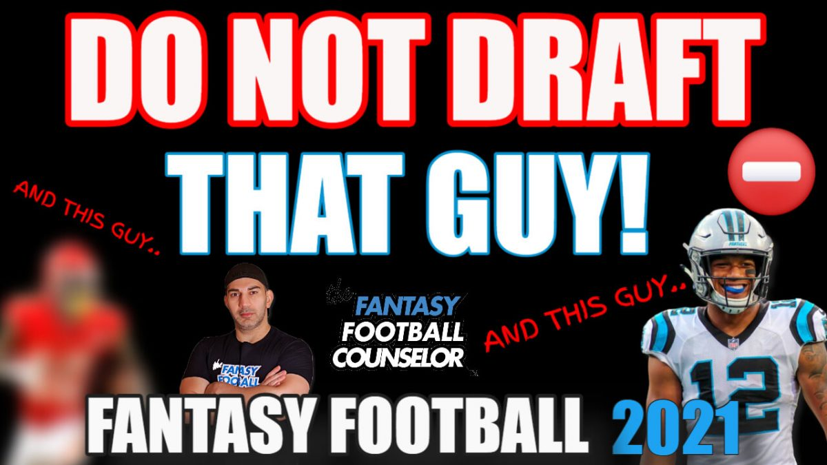 Fantasy Football Players to avoid 2021