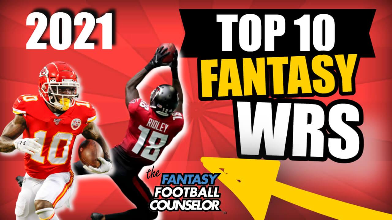 Top 10 Fantasy Football WRs