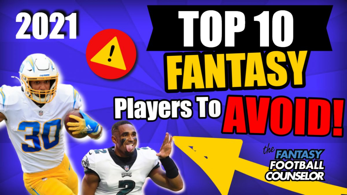 Top 10 Fantasy Football Players to avoid
