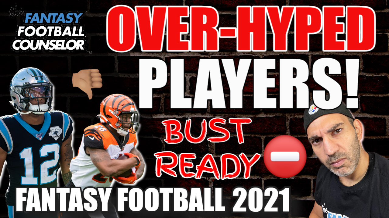 overhyped fantasy players