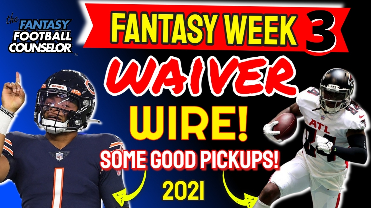 Waiver Wire Week 3