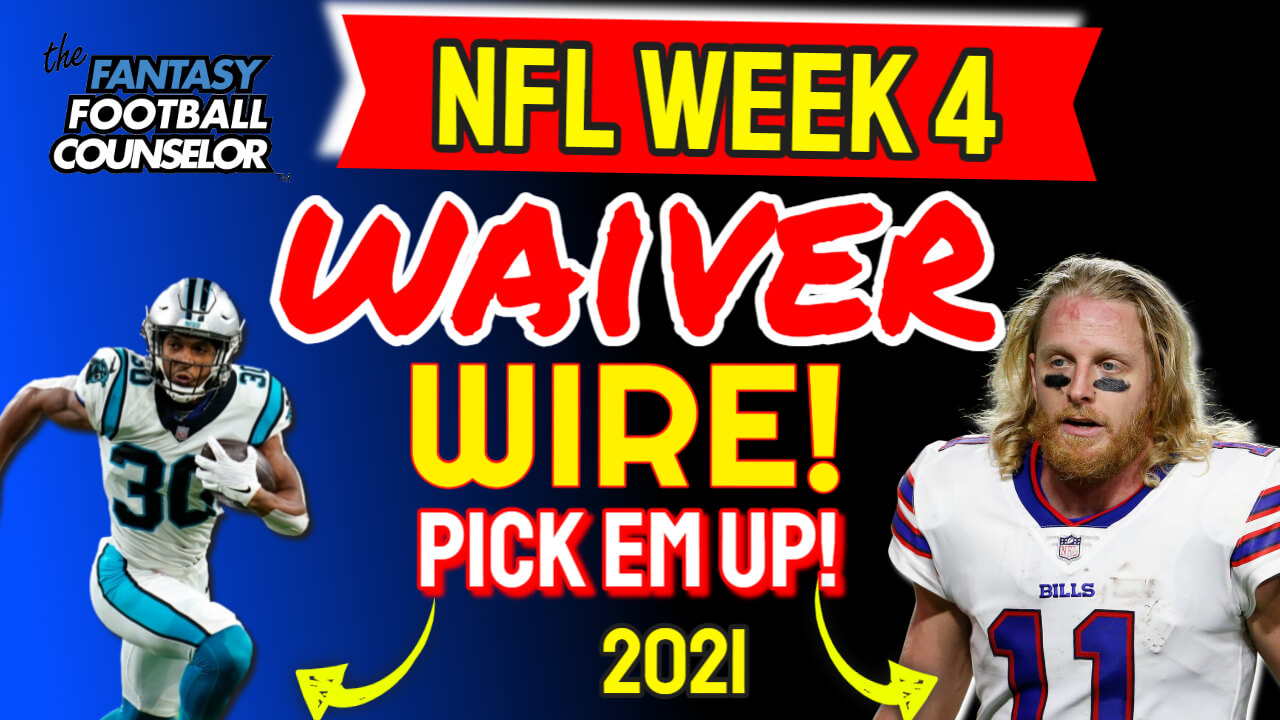Week 4 Waiver Wire