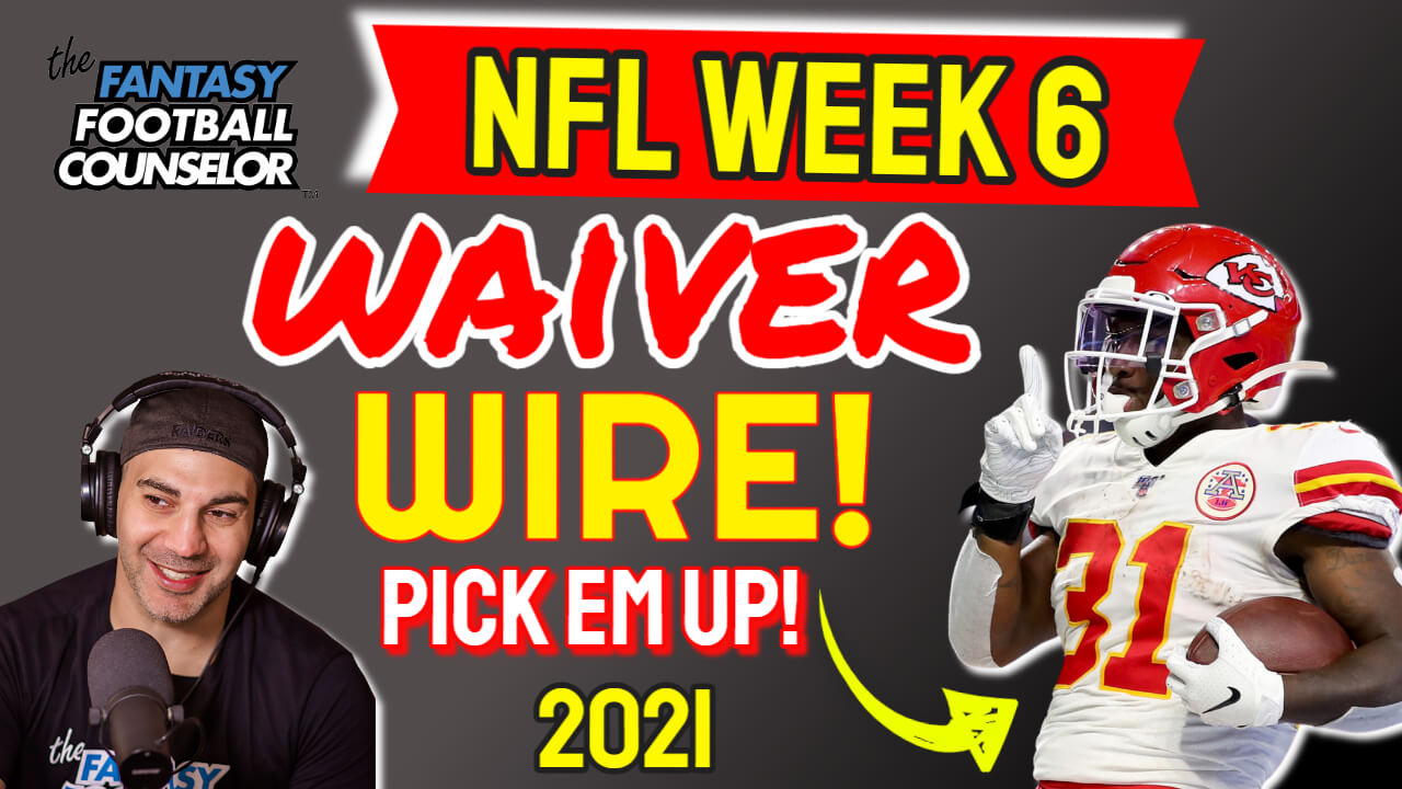 Waiver Wire Week 6